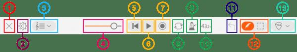Elements of Toolbar