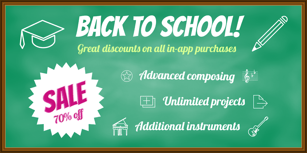 Stave'n'Tabs BACK TO SCHOOL SALE