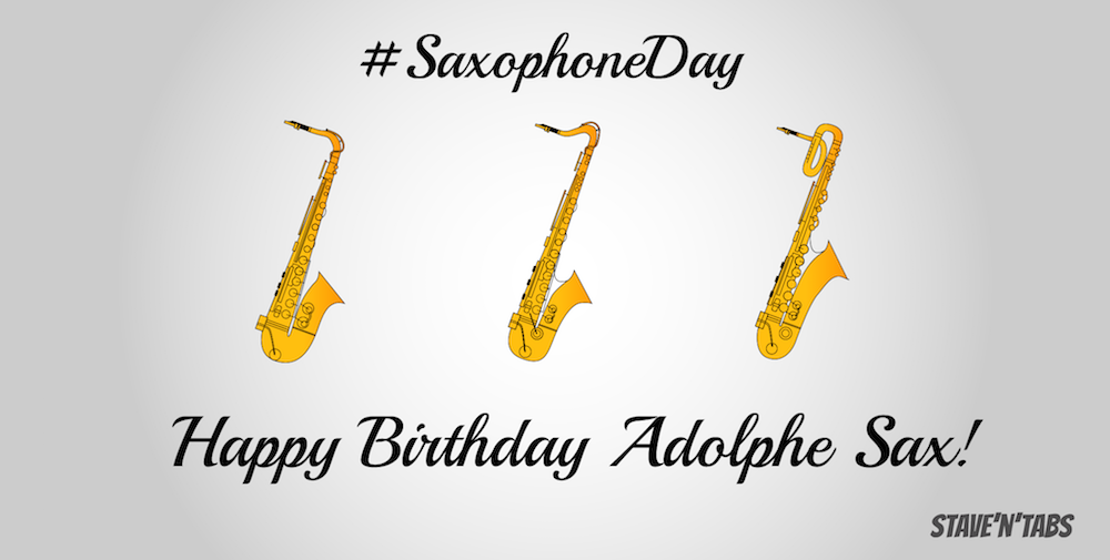 Stave'n'Tabs: Saxophone Day