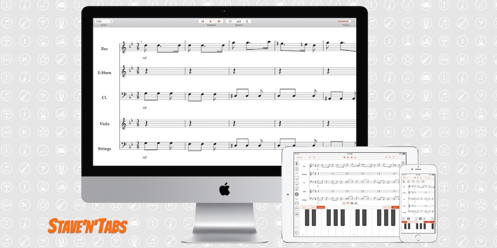Stave'n'Tabs OS X 1.0: Score and tablature viewer on your Macs