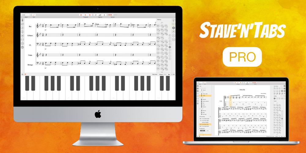 Stave'n'Tabs macOS 2.0: PRO Version